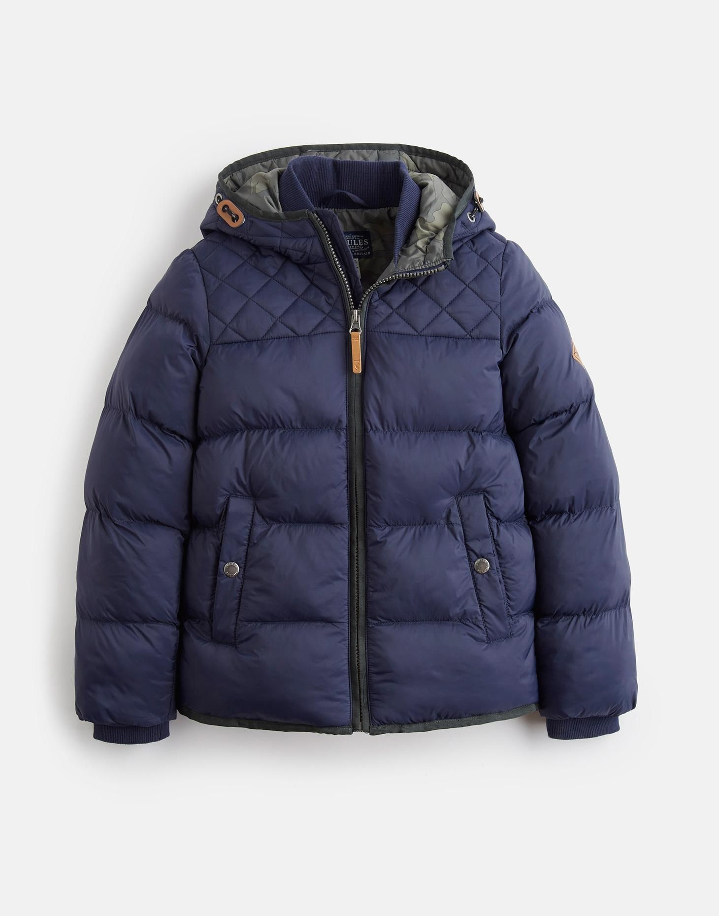 7c4e262ab SKU  3D QUILTED PADDED JACKET Teal