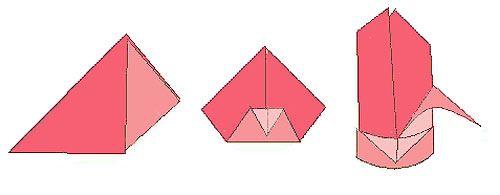 servietten falten lilie origami paper art pinterest. Black Bedroom Furniture Sets. Home Design Ideas