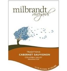 "Milbrandt ""Traditions"" Columbia Valley Cabernet Sauvignon 2012"