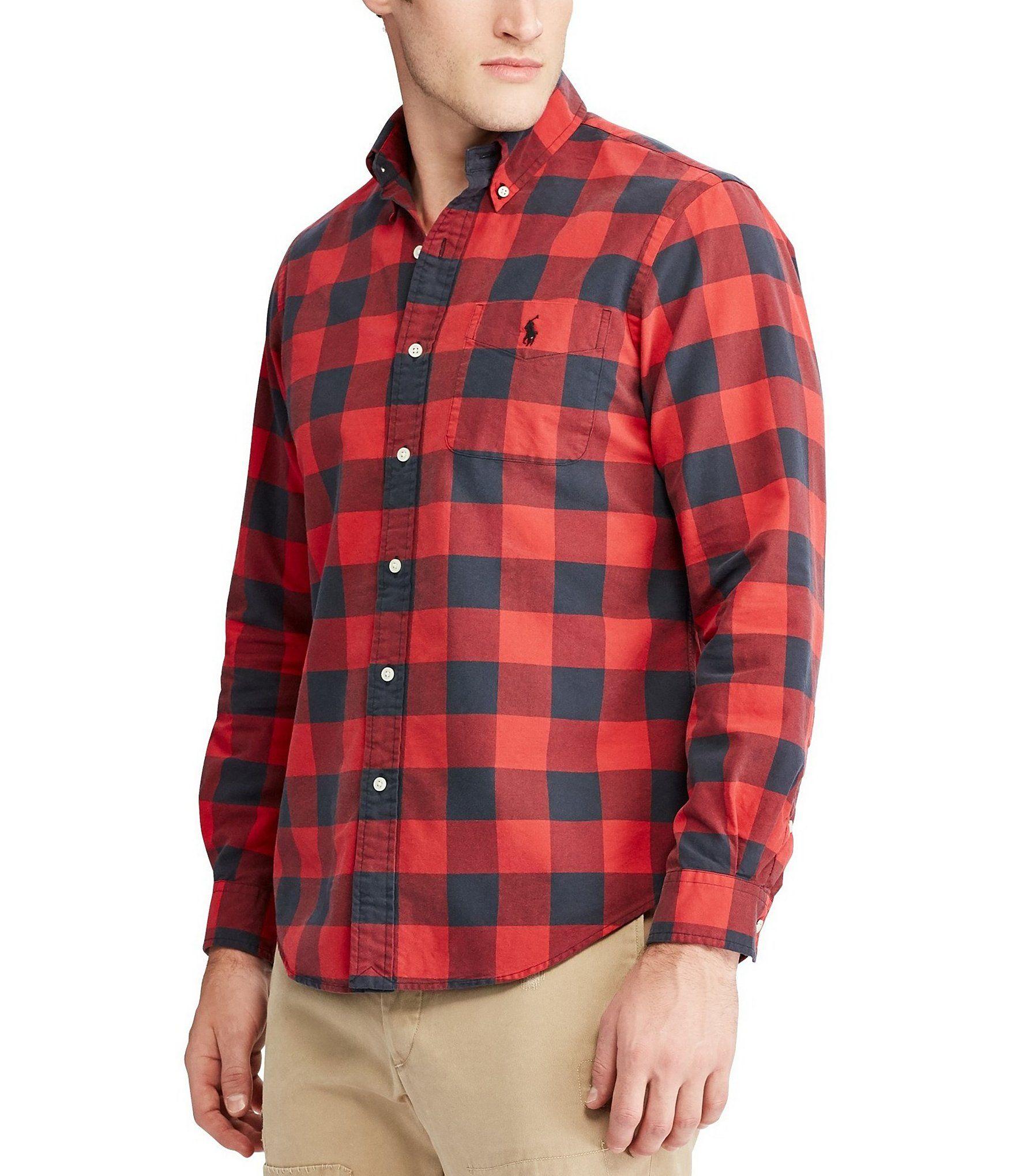 Shop for Polo Ralph Lauren Plaid Oxford Long-Sleeve Woven Shirt at  Dillards.com d795308217f4