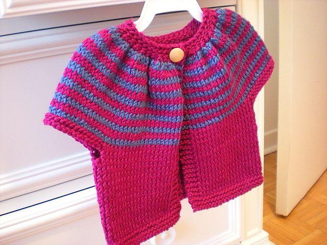 93f2c9597d88 Ravelry  Striped Smock Top pattern by Erika Flory -Free pattern ...