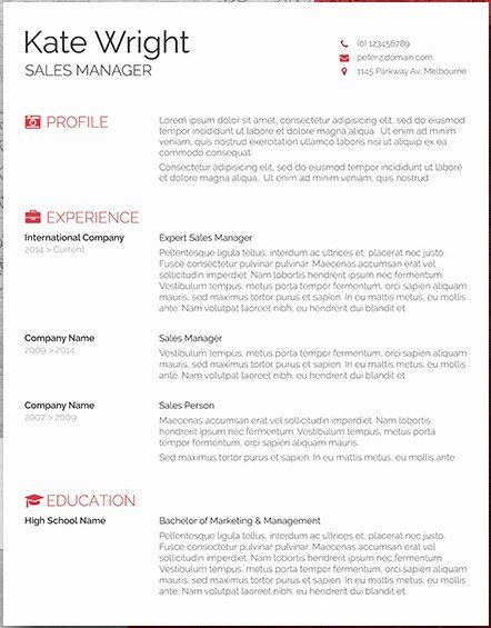 basic resume templates word awesome 20 free resume word