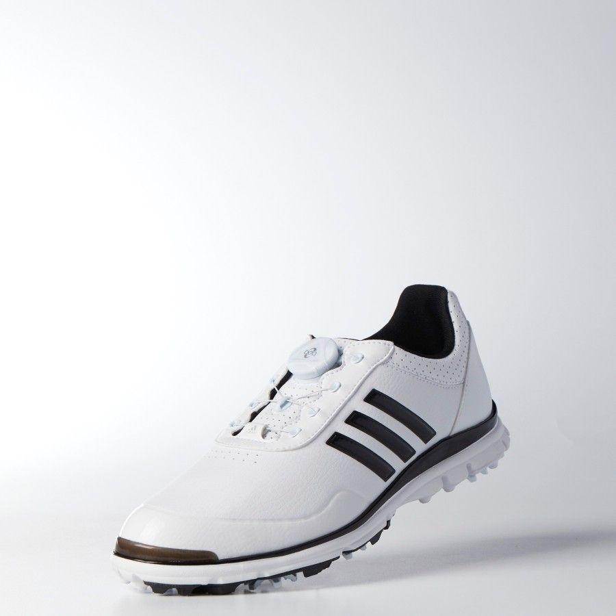 8dc89e8b698c Adidas Ladies AdiStar Lite BOA Golf Shoe - White/Black | Adidas Golf ...