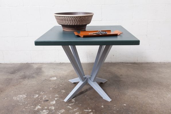 WIM RIETVELD SQUARE INDUSTRIAL CAFE TABLE