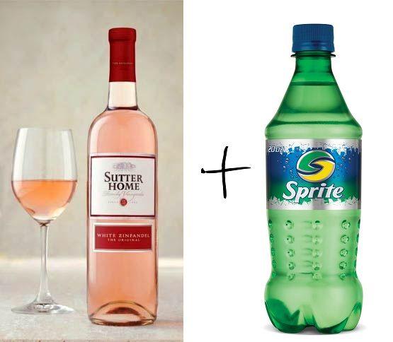 White wine spritzer! Yum | Virgin or Non-Virgin Drink | Pinterest