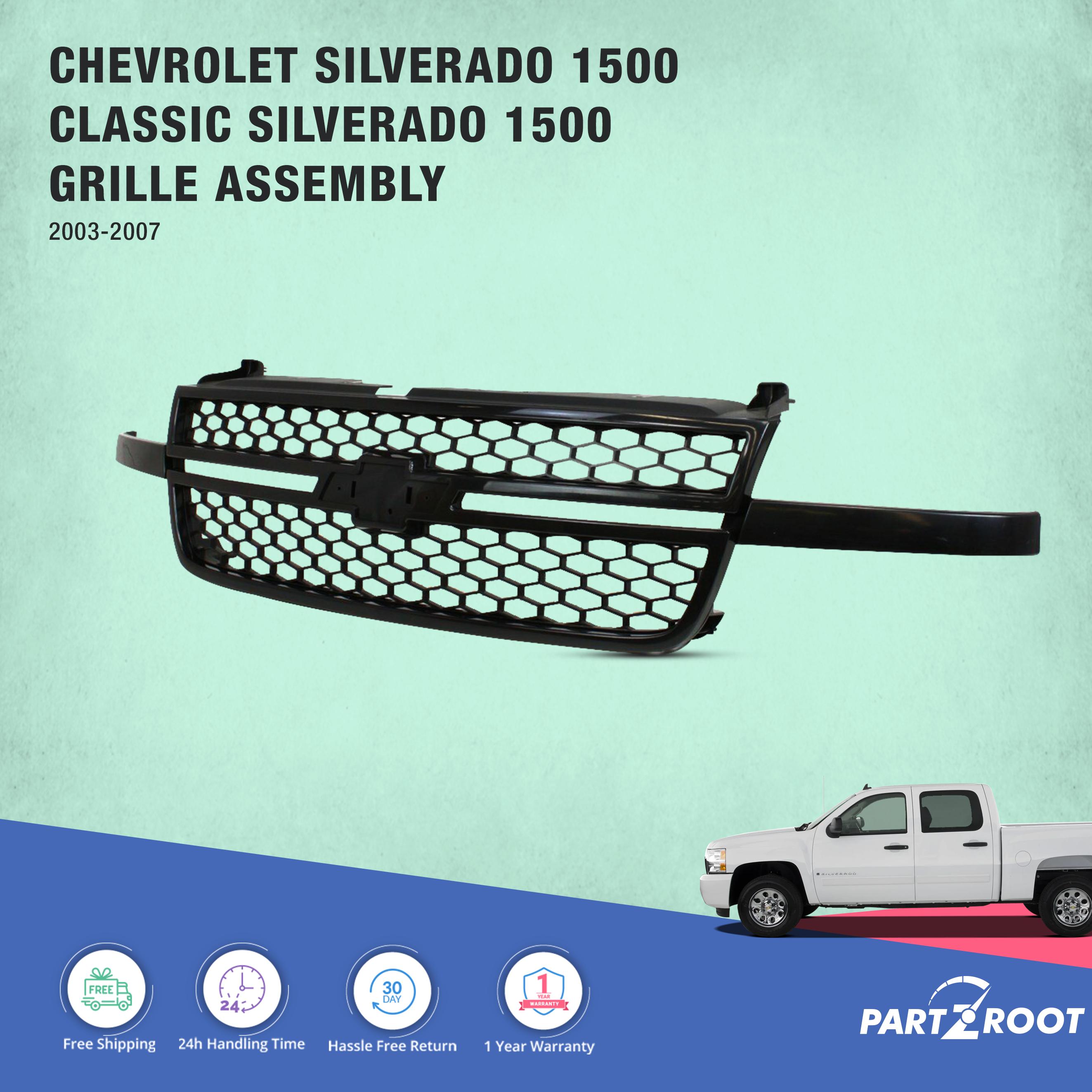 2003 2007 Chevrolet Silverado 1500 Classic Silverado 1500 6 0l
