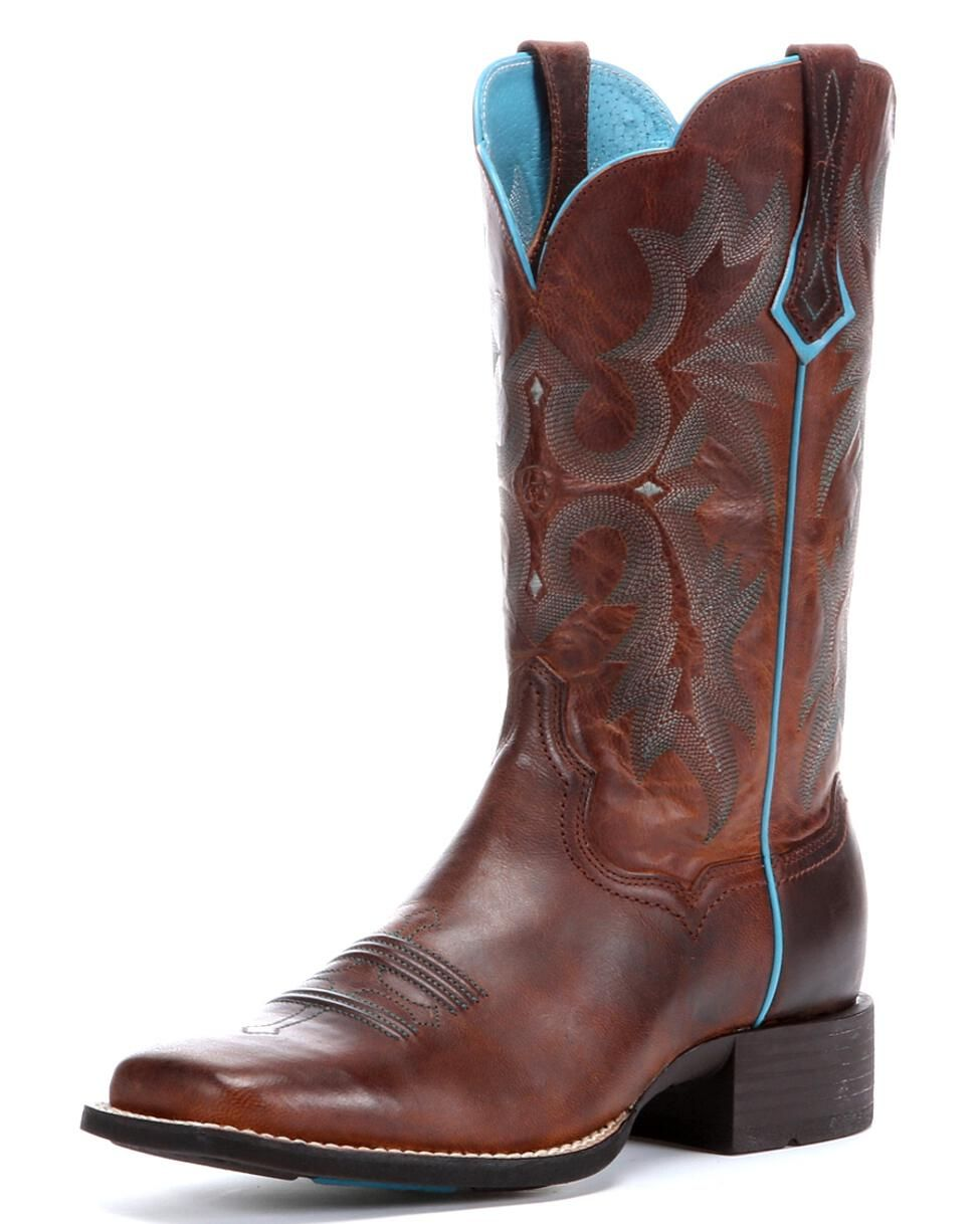 c8d0299f753 Ariat Women's Tombstone Western Boots - Wide Square Toe | Country ...