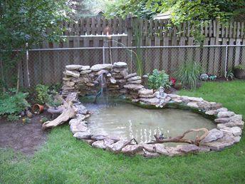 Duck pond pool pictures gardenlicious backyard ducks for Garden duck pond design