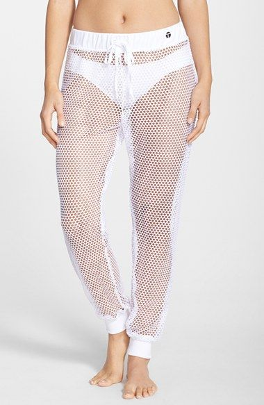 036b2f625e Trina Turk Recreation Mesh Cover-Up Jogger Pants available at #Nordstrom
