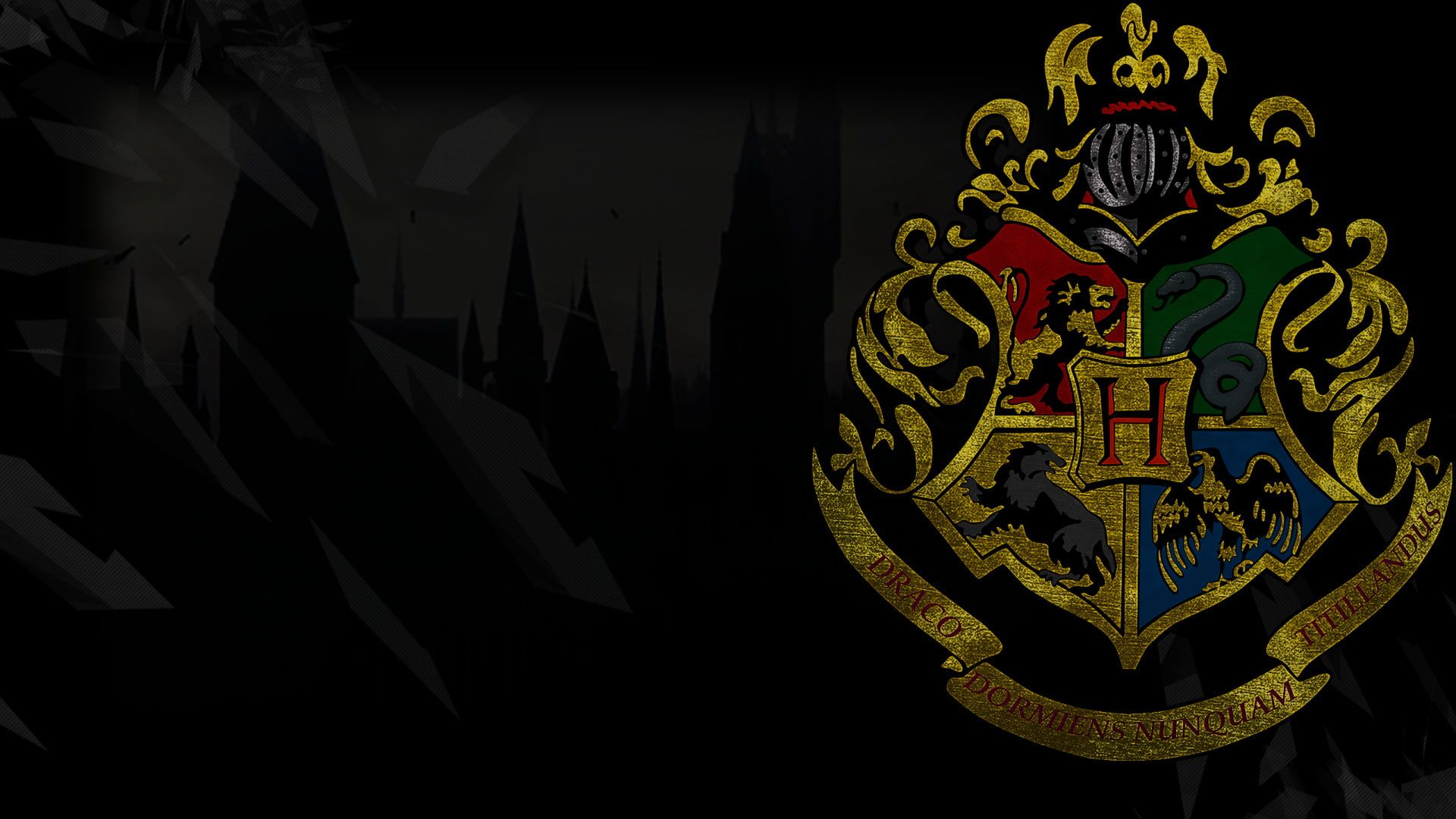 Harry Potter Gryffindor Hufflepuff Ravenclaw Slytherin 1080p Wallpaper Hdwallpaper D In 2020 Harry Potter Wallpaper Harry Potter Background Slytherin Wallpaper