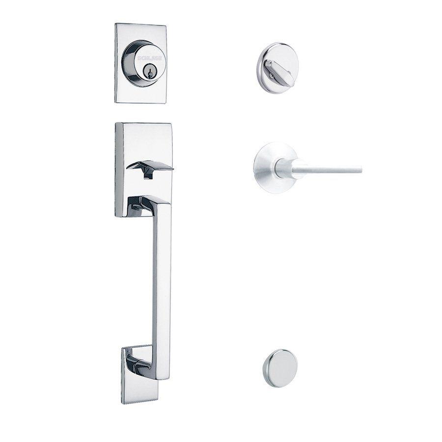 Schlage Century/Latitude Residential Single Lock Front Door Handleset