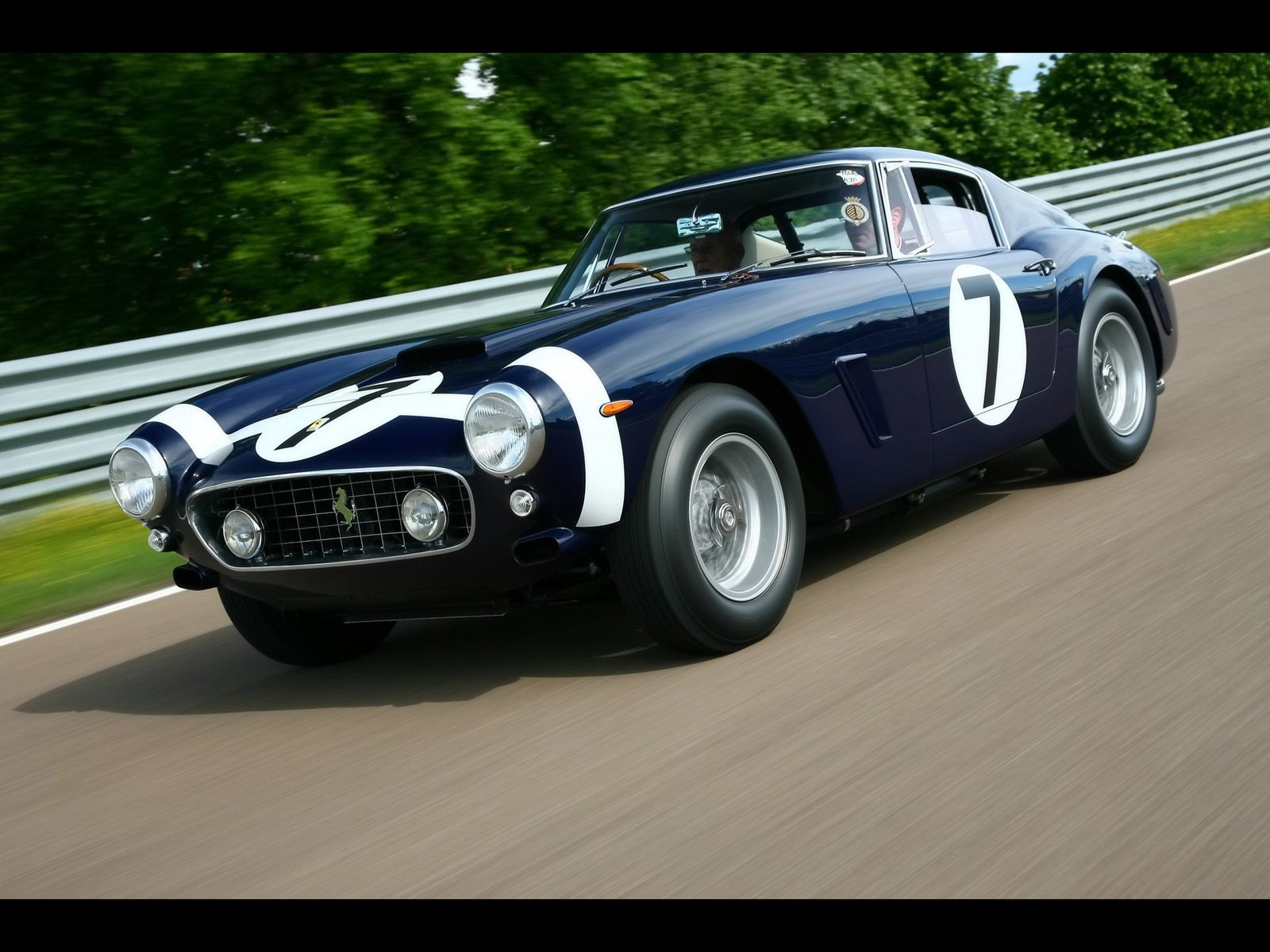 Ferrari 250 Gto I Love Dark Blue Ferraris Vintage Sports Cars