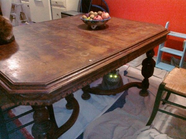 Exceptional Vintage Dining Table   Need Help Identifying Period/era/style/woo