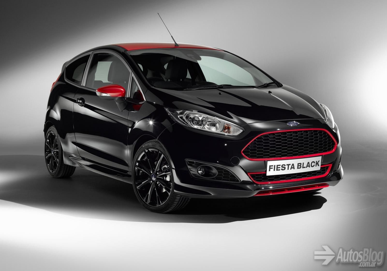 Ford fiesta zetec s black and red edition autos blog