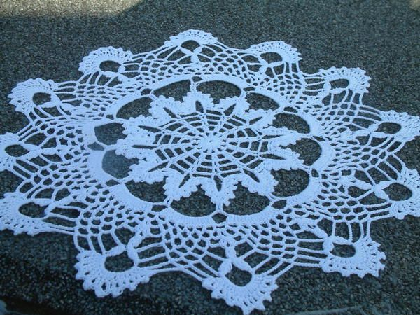 13 Free Crochet Doily Patterns For Beginners Craft Pinterest