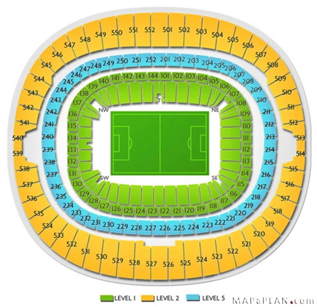 Wembley Stadium Seating Plan Row Numbers Wembley Stadium Seating How To Plan Wembley Stadium