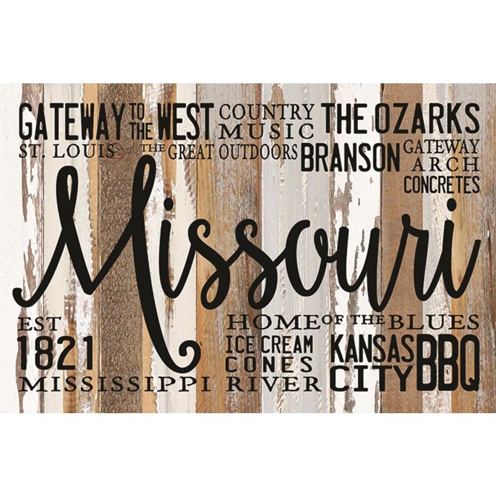 Sweet Bird Co Missouri Est 1821 Reclaimed Wood