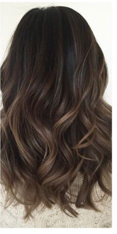 The Top Hairstyles For Summer 2016 As Told By Pinterest Brown Hair Balayage Dark Brown Hair Balayage Balayage Hair
