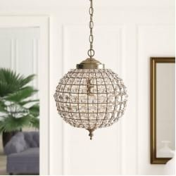 Photo of Sphere pendant lamp 1 head KipWayfair.de