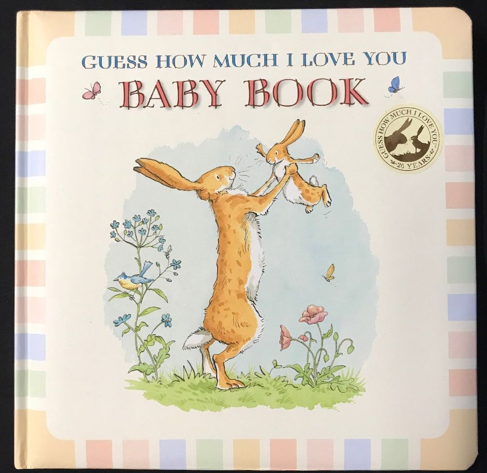 Guess how much i love you baby book hardcover ebay
