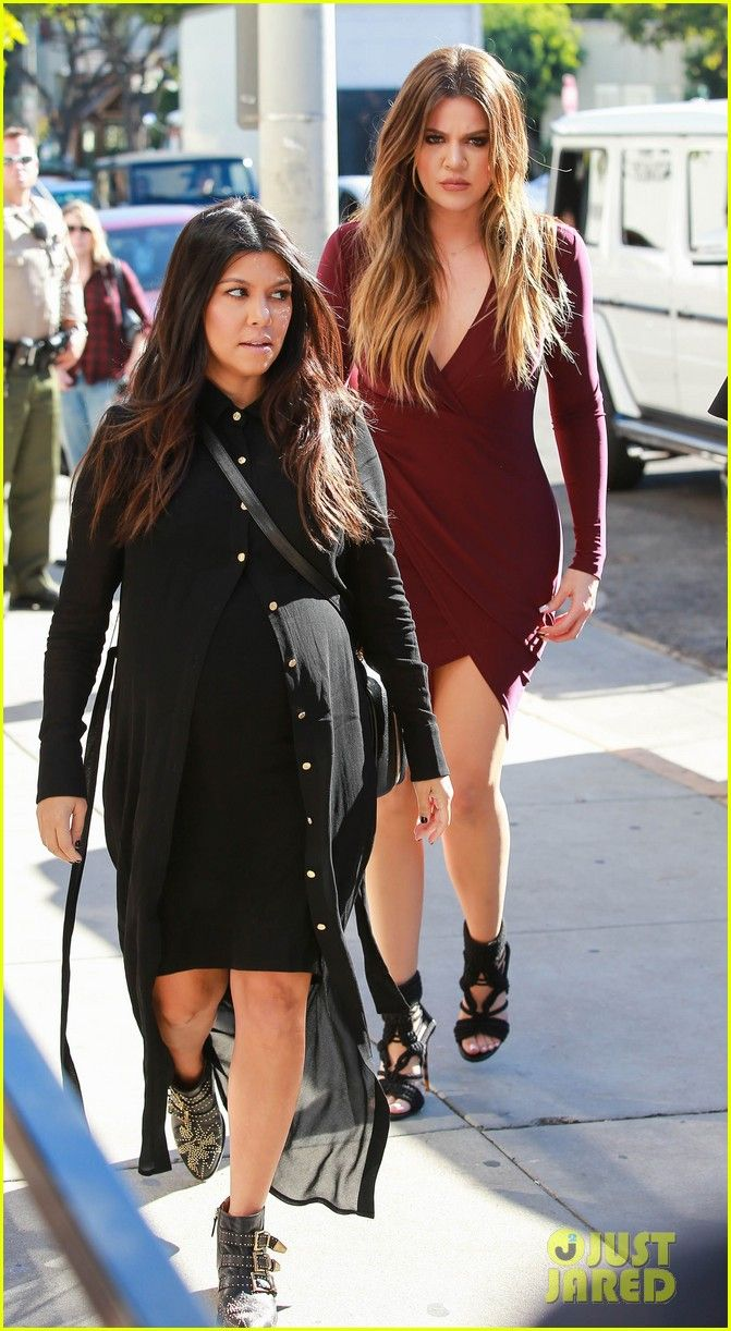 f636bfaed6 Khloe Kardashian shows off her long legs in a tight dress while filming a  scene for Keeping Up with the Kardashians at Bel Bambini on Thursday  afternoon ...