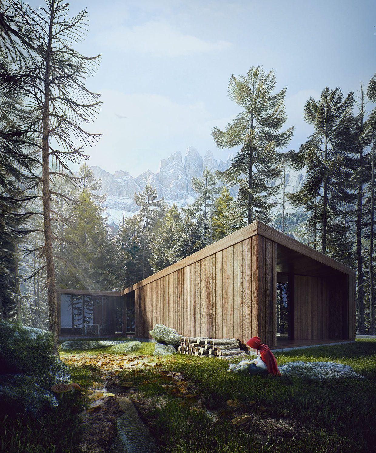 Moderne holzhäuser architektur  Pin von Roko auf Architecture | Pinterest | Galerien