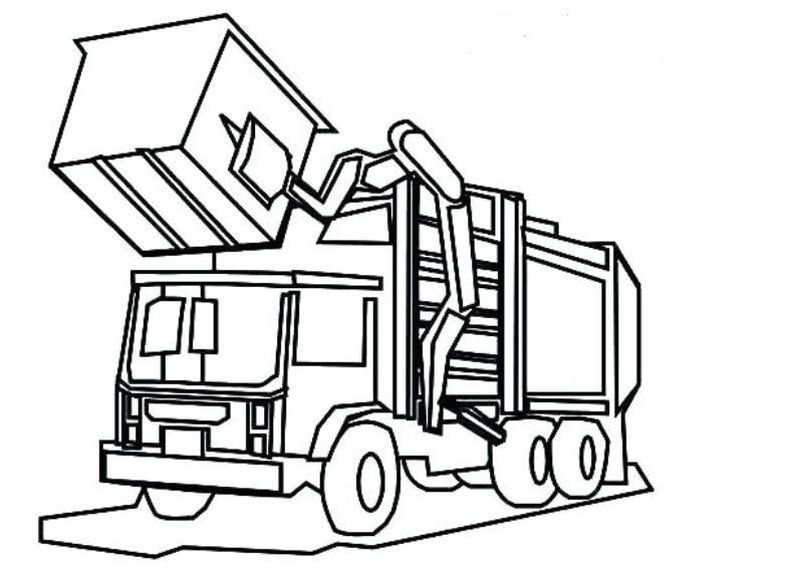 Truck Coloring Pages To Print In 2020 Truck Coloring Pages Coloring Pages Valentines Day Coloring Page