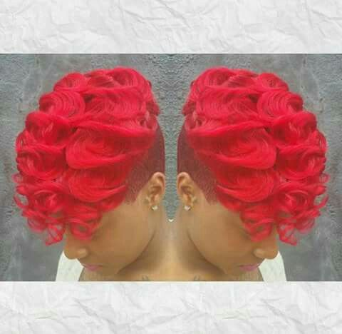 Red bliss curls