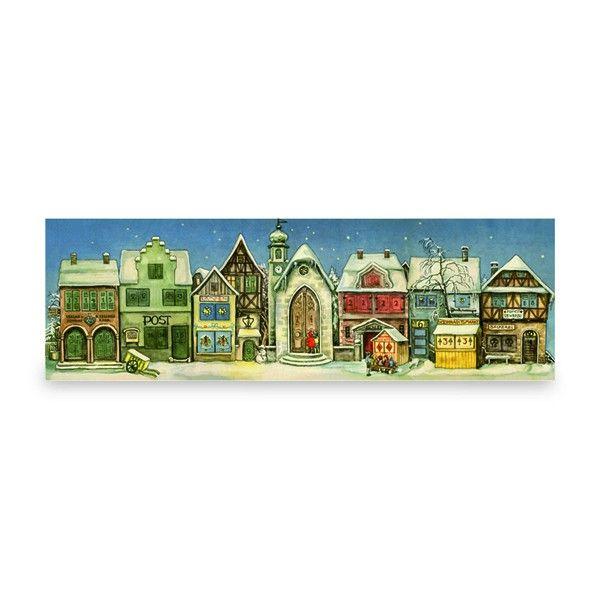 """Panorama-Adventskalender """"Kleine Stadt"""