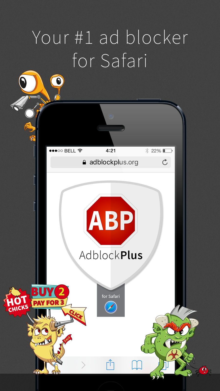 Adblock Plus (ABP) Remove ads, Browse faster without