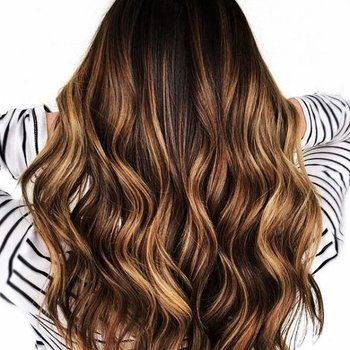 24 Gorgeous Reasons Why Balayage Isn't Just for Blondes #caramelbalayage