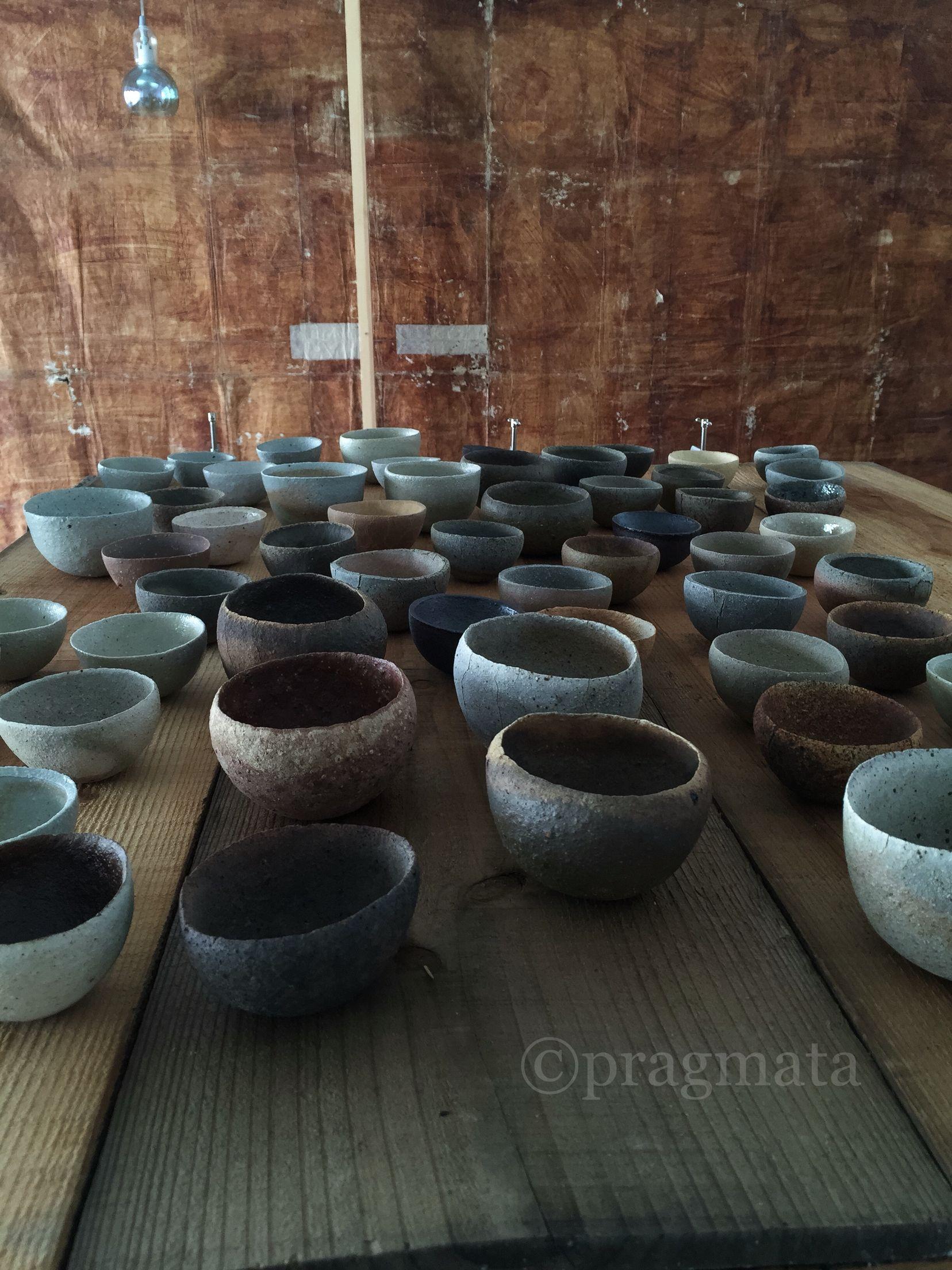 """Rice fields"" Watanabe Takayuki ceramics exhibition  「水田」 渡辺隆之 陶芸 個展 #pragmata"