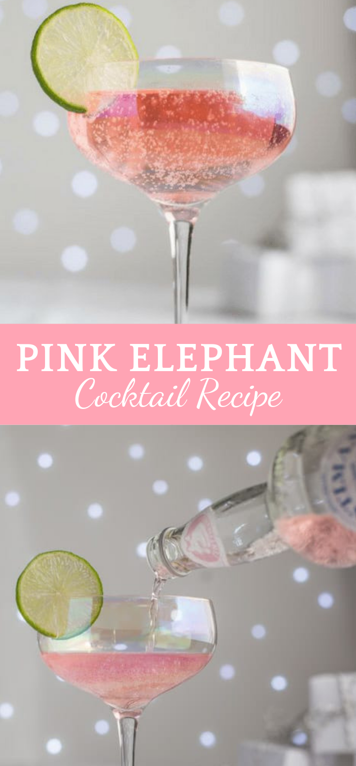 PINK ELEPHANT COCKTAIL RECIPE #Cocktail #Drink #cocktaildrinks