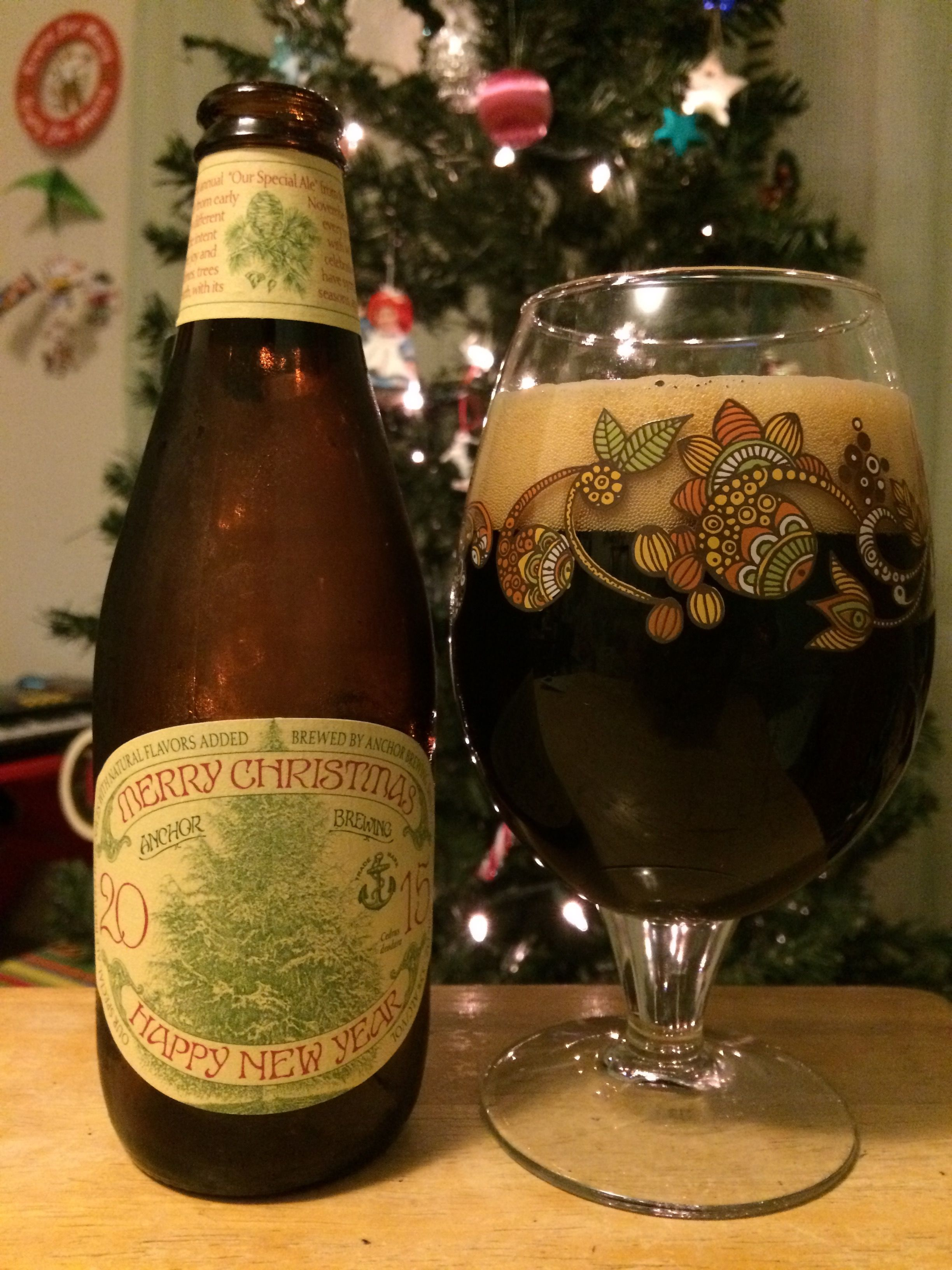 beer anchor brewing christmas ale 2015 - Anchor Brewing Christmas Ale