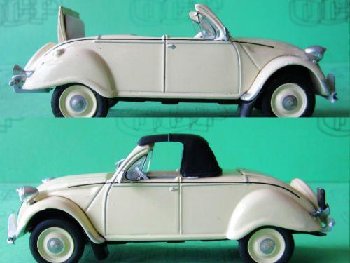 1 43 Esp 56 01 Citroen 2 Cv Cabriolet 4 Saisons By Eligor 2cv Citroen 2cv Cabriolet