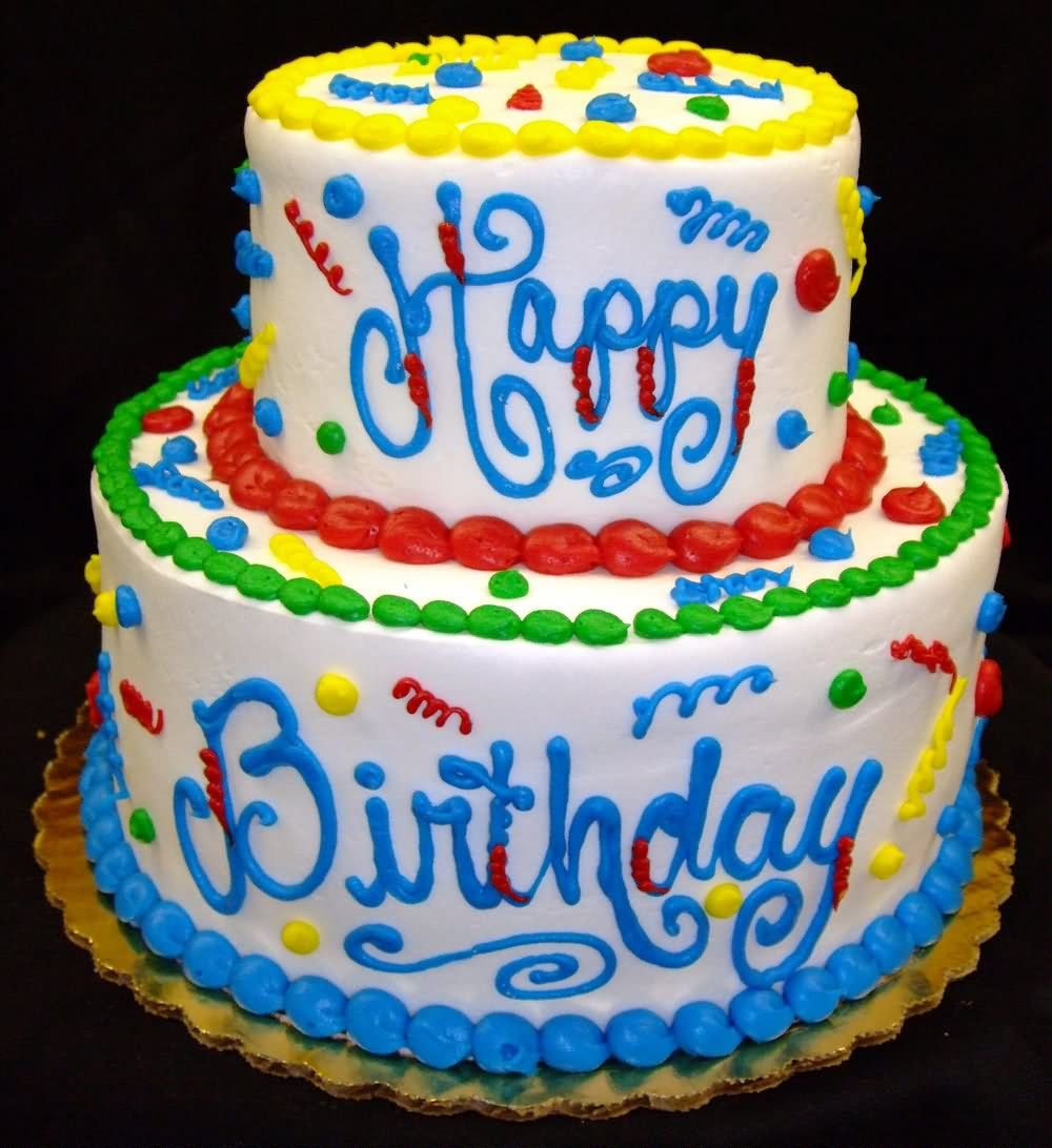 Birthday Cake Images With Photo : Happy Birthday Cake Graphic     Funny Images, Pictures ...