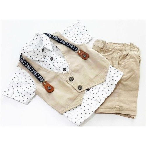 b16b6835ce2b Newborn Boy Clothing Sets Cotton Gentleman 2018 Autumn Spring ...
