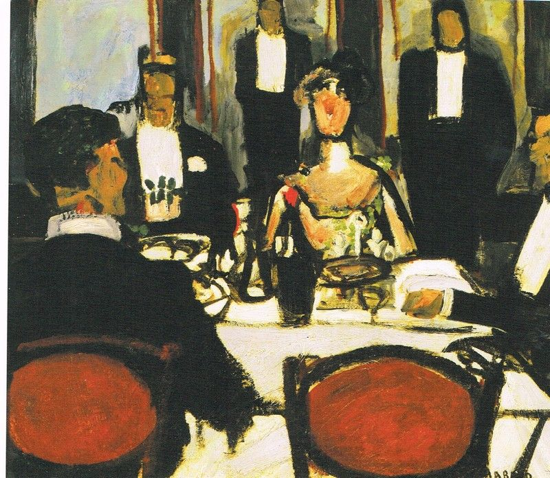 Auguste Chabaud (3 October 1882 in Nimes - 23 May 1955 in Graveson) was a French painter and sculptor.