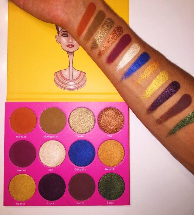 Nubian 2 Palette By Juvias Place | Makeup | Pinterest | Juvias Place Makeup And Makeup Products