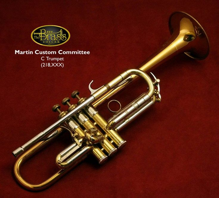 martin custom committee c trumpet early 1960 39 s martin vintage trumpets c trumpet trumpet. Black Bedroom Furniture Sets. Home Design Ideas