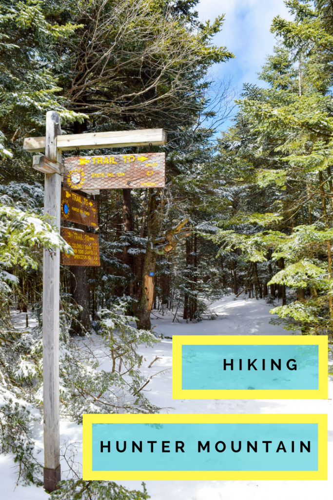 Hiking Hunter Mountain in the Catskills, NY with Discover Outdoors.