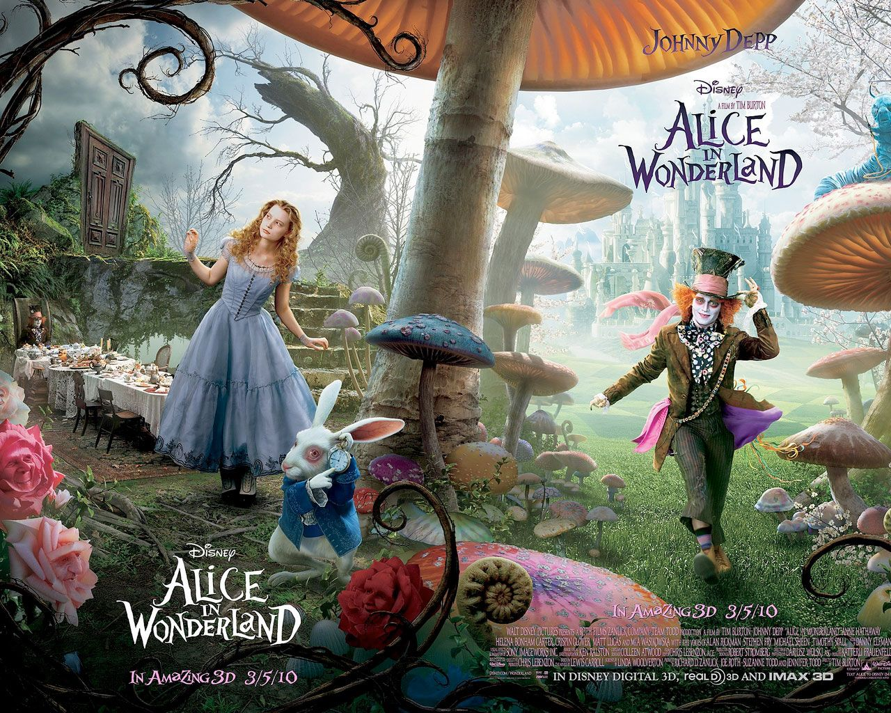 Movies Alice In Wonderland Characters Adventures In Wonderland Alice In Wonderland