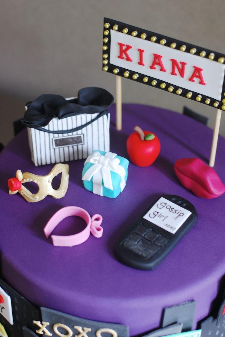 Gossip Girl Cake Afternoon Crumbs Gossip girls Pinterest