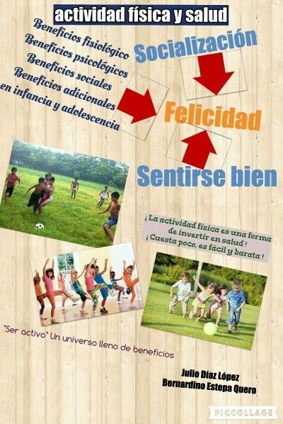 Beneficios Que Aporta La Práctica De Actividad Física En Niños Book Cover Books Cover