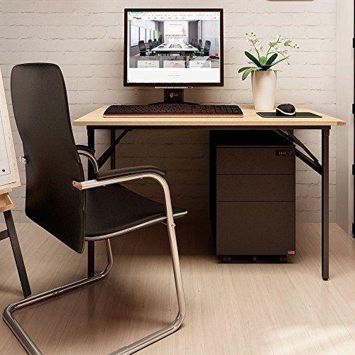 office desk workstation. Simple Workstation Need Computer Desk Office 394Modern Folding Table  Workstation For Homeu0026Office Use No Install Needed Teak Color Desktop Black Lu2026   For
