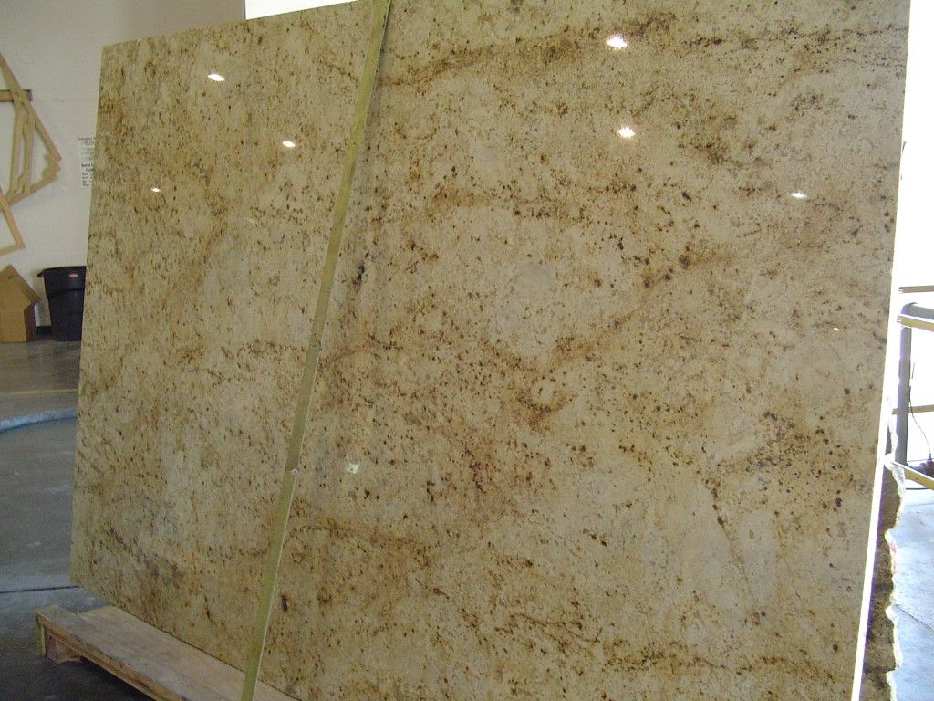 Colonial Cream Granite Slab With
