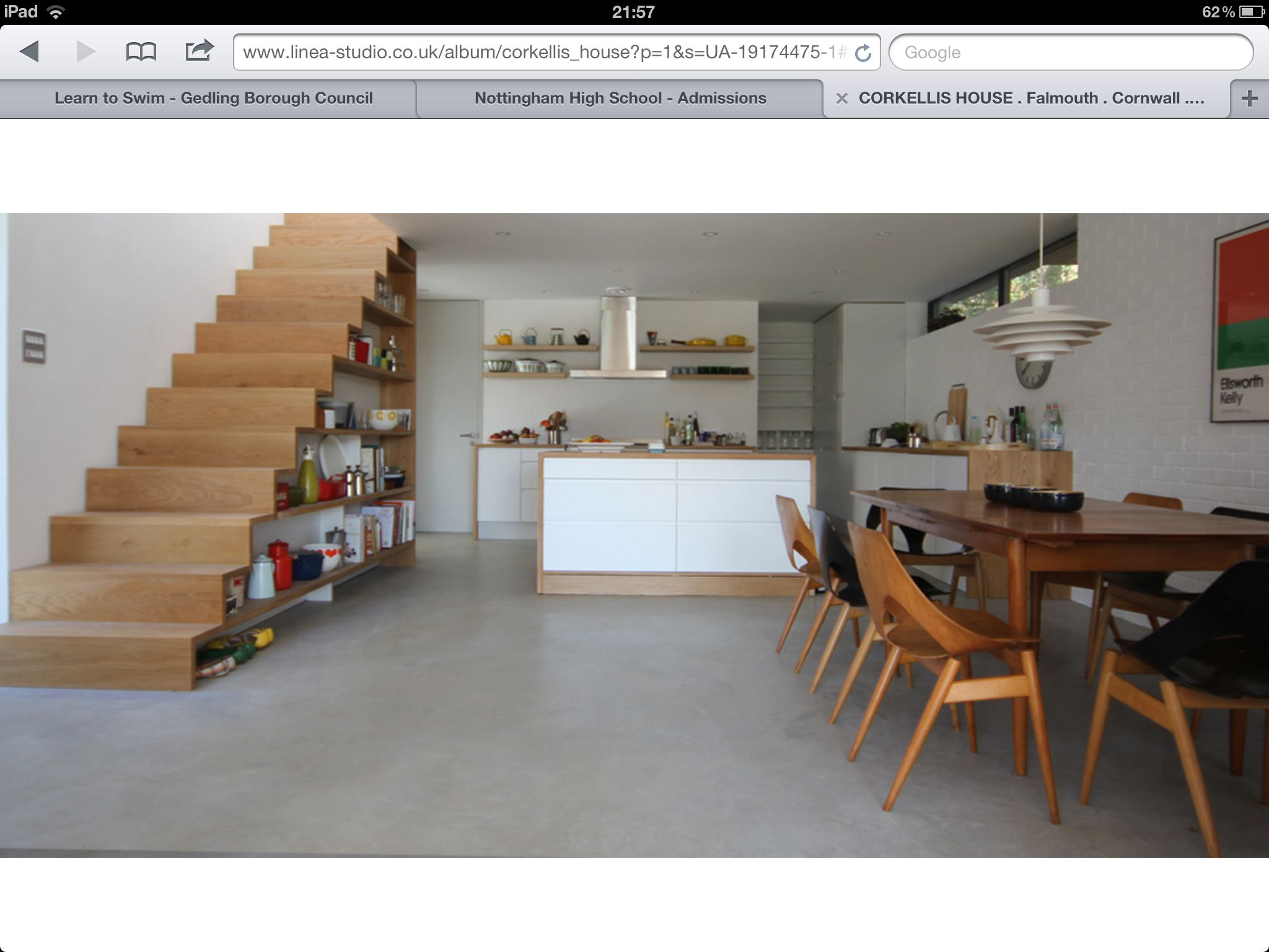 The beautiful Grand Designs house in Falmouth. Like the dual purpose ...