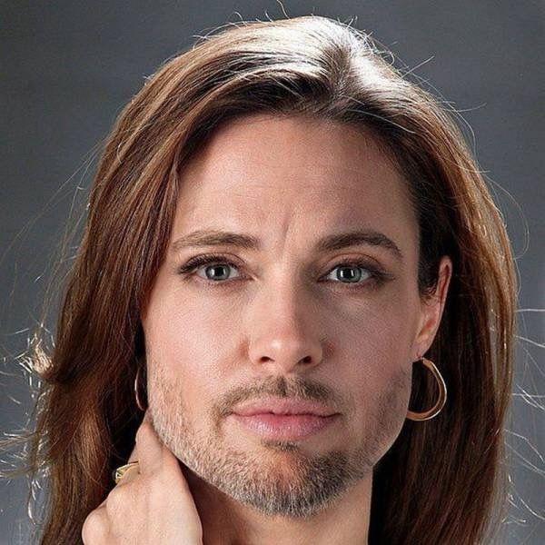 Brangelina Face Merge Brad Pitt And Angelina Jolie Celebrity Faces Brad Pitt Brad Pitt And Angelina Jolie