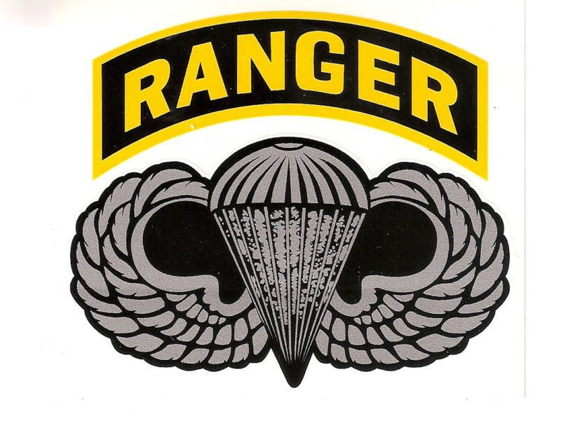 US Army Special Forces Ranger Airborne Military Vinyl Decal Sticker
