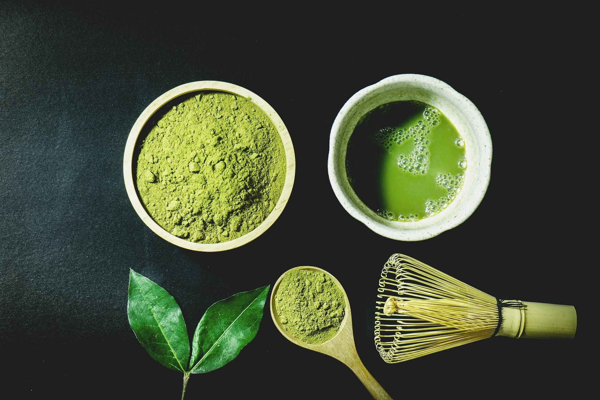 Tip Of The Week Matcha Is Tea Made From The Whole Green Tea Leaf Instead Of Part Of It Like Regular Green Te Matcha Tea Powder Matcha Tea Benefits Tea Powder